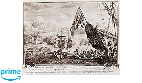 Amazon.com: King GeorgeS War 1745 Nthe Landing Of English ...