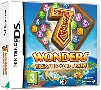 Avanquest 7 Wonders Treasures of Seven DS vídeo - Juego (Nintendo DS, Arcada): Amazon.es: Videojuegos