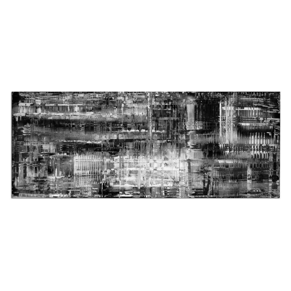 Amazon.de: Schwarz & Weiß Kunst aporie B/W \'- Minimalistische ...