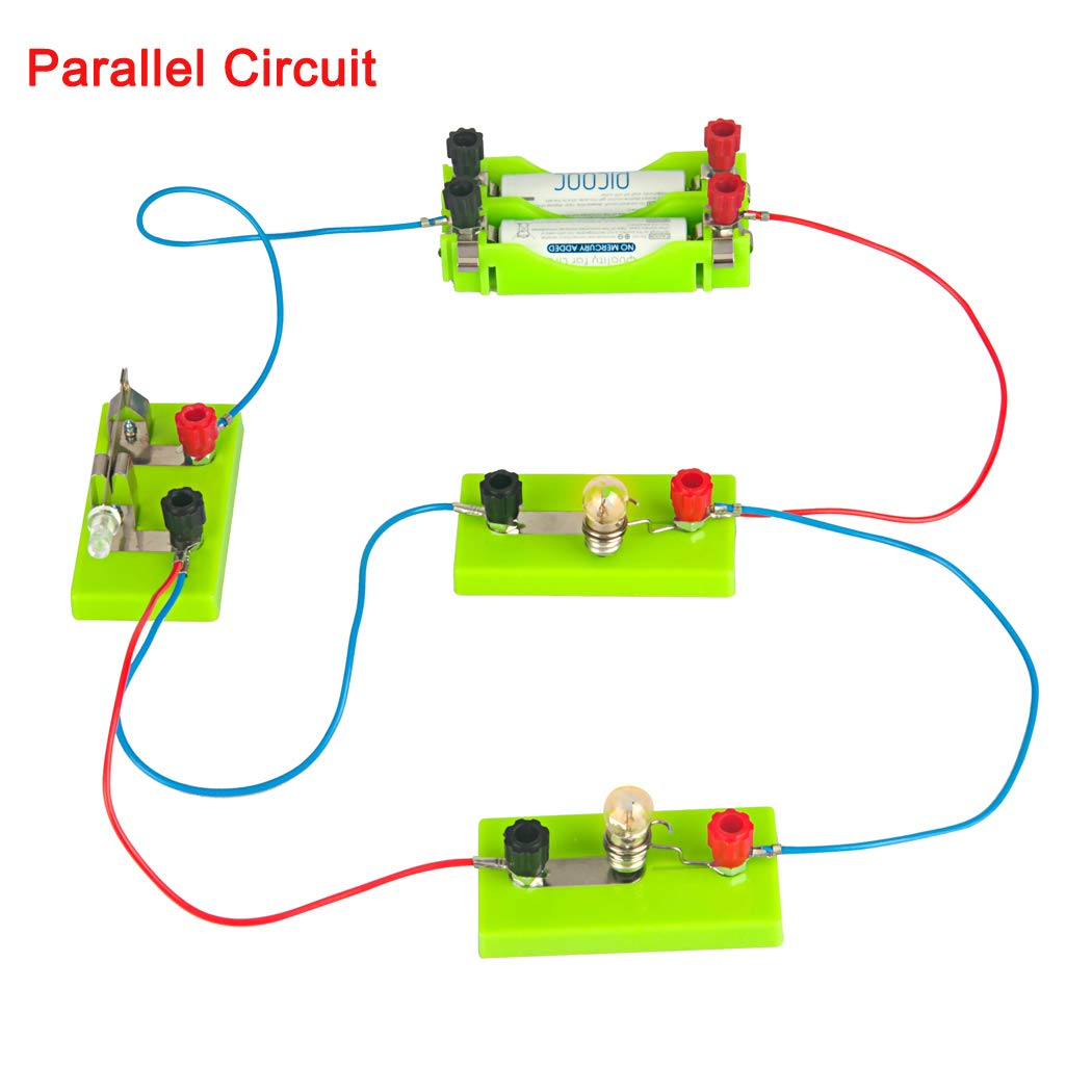 Osoyoo Electricity Science Kitseries Circuit Parallel Simple With A Battery And Two Lightbulbs In Circuiteducation Learning Toysscience Physical Education Equipmentlearning By Doing