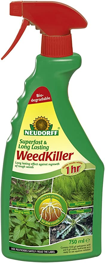 Neudorff 613616 - Herbicida, 750 ml: Amazon.es: Jardín