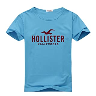 Hollister Graphic Logo For Men's T-shirt Tee Outlet