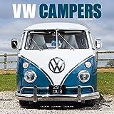 VW Camper Calendar- Calendars 2018 - 2019 Wall Calendars - Car Calendar - Automobile Calendar - VW Campers 16 Month Wall Calendar by Avonside