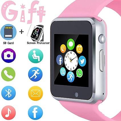 Amazon.com: Reloj inteligente, reloj inteligente para ...