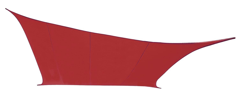 クッカバラ日除けシェードセイル ワイン色 6x4.2x4.2m直角三角形 紫外線98%カット 防水タイプ OL0112LRAT B00OBH0468 11495 6x4.2x4.2m直角三角形  6x4.2x4.2m直角三角形