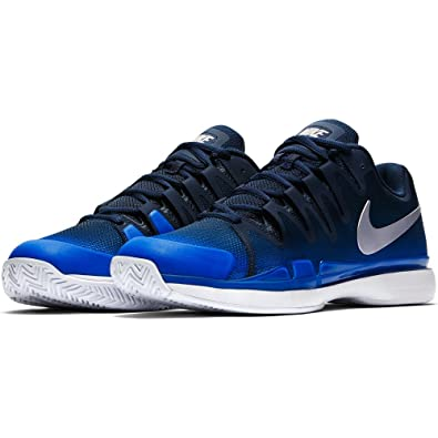 474c26c7dd5 Nike Chaussures de Tennis Homme Zoom Vapor 9.5 Tour 631458 440 Midnight  Navy m