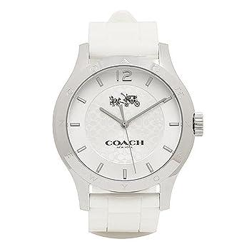 03edab49e304 [コーチ] 腕時計 レディース アウトレット COACH W6033 WHT シルバー ホワイト [並行輸入品]