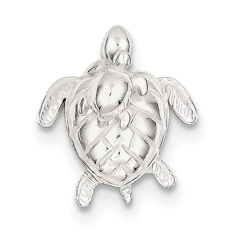 Lex /& Lu Sterling Silver Mother /& Baby Turtle Pend-Prime