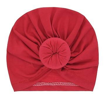 4 St/ück weiche Baumwolle M/ädchen Miaoo Kopfbedeckung f/ür Babys