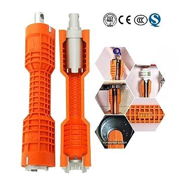 ändern Wasserhahn Werkzeug Spüle Schraubenschlüssel Klempner Und