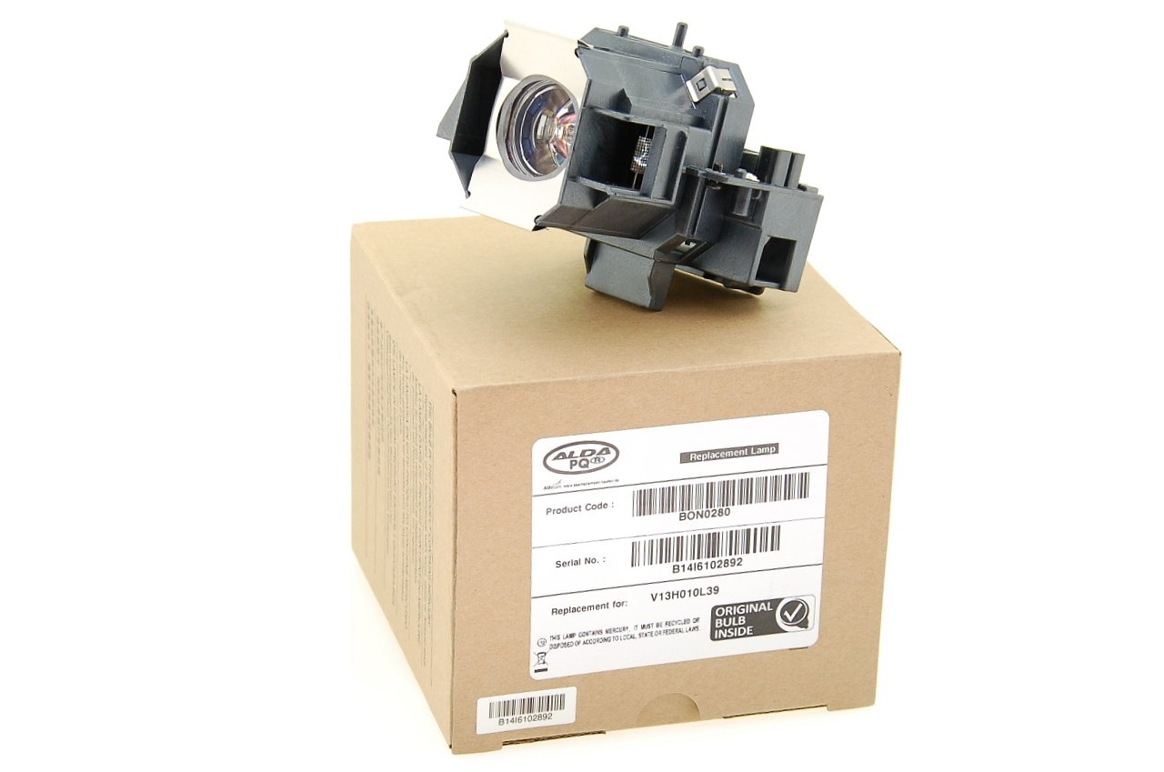 Alda PQ Original, Lampada proiettore per EPSON TW1000 Proiettori, lampada di marca con PRO-G6s alloggio 12194