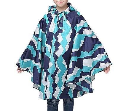 14548a41f8a5 Amazon.com  JIANLANPTT Patterns Boys Girls Rain Poncho Waterproof ...