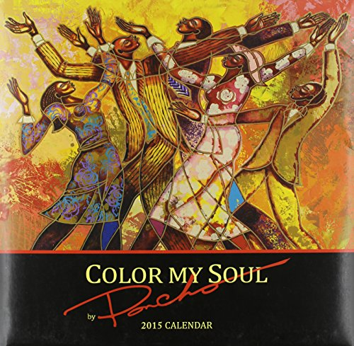 Books : Shades of Color 12 by 12 Inches 2015 Color My Soul African American Calendar (15PB)