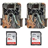 (2) Browning Strike Force 850 Extreme Trail Game Camera (16MP) 16GB Memory Card | BTC5HDX