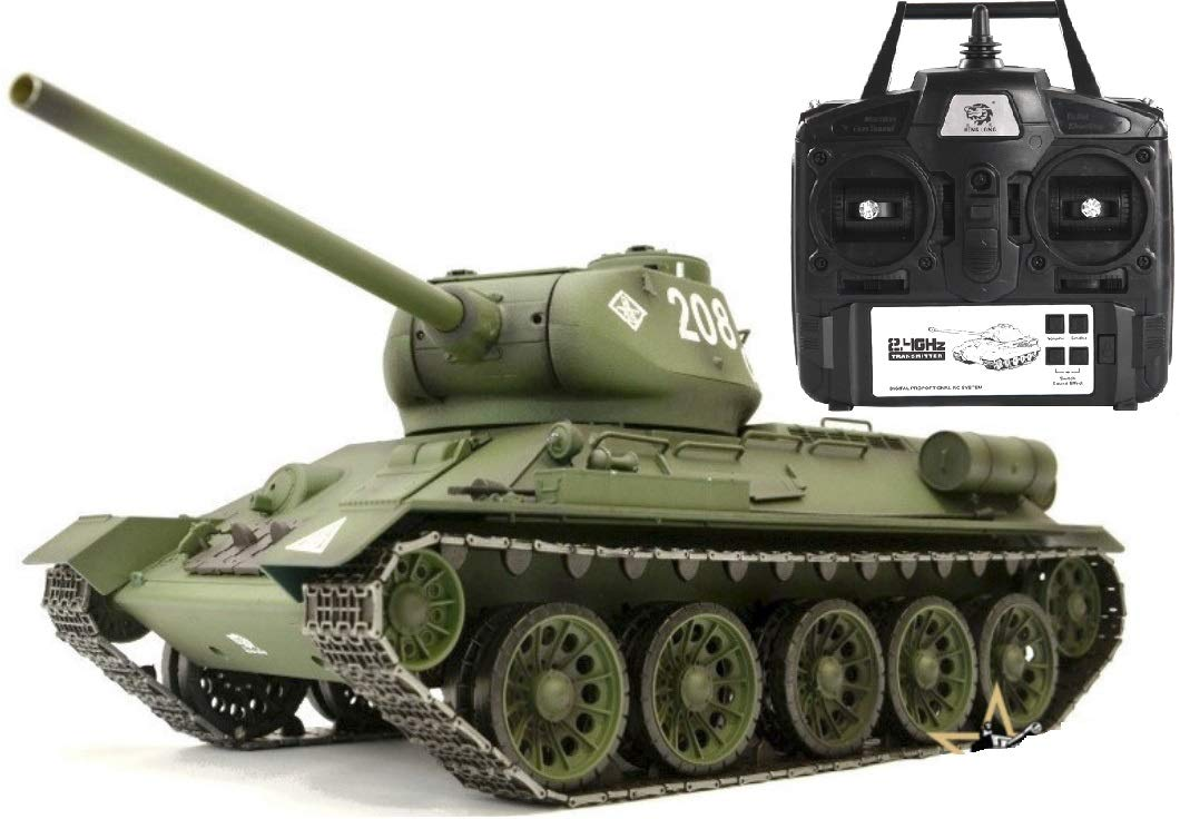 Modeltronic Panzer 1: 16 T-Heng Long Version Softair Metall Sender 2.4 GHz