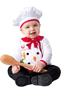 Amazon.com: stylesilove bebé unisex disfraz de Chef Cook ...