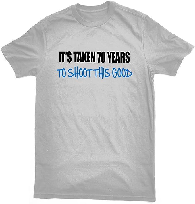 Its Tomadas 70 años Good Permite Hacer Fotos Esta T-Camiseta de ...