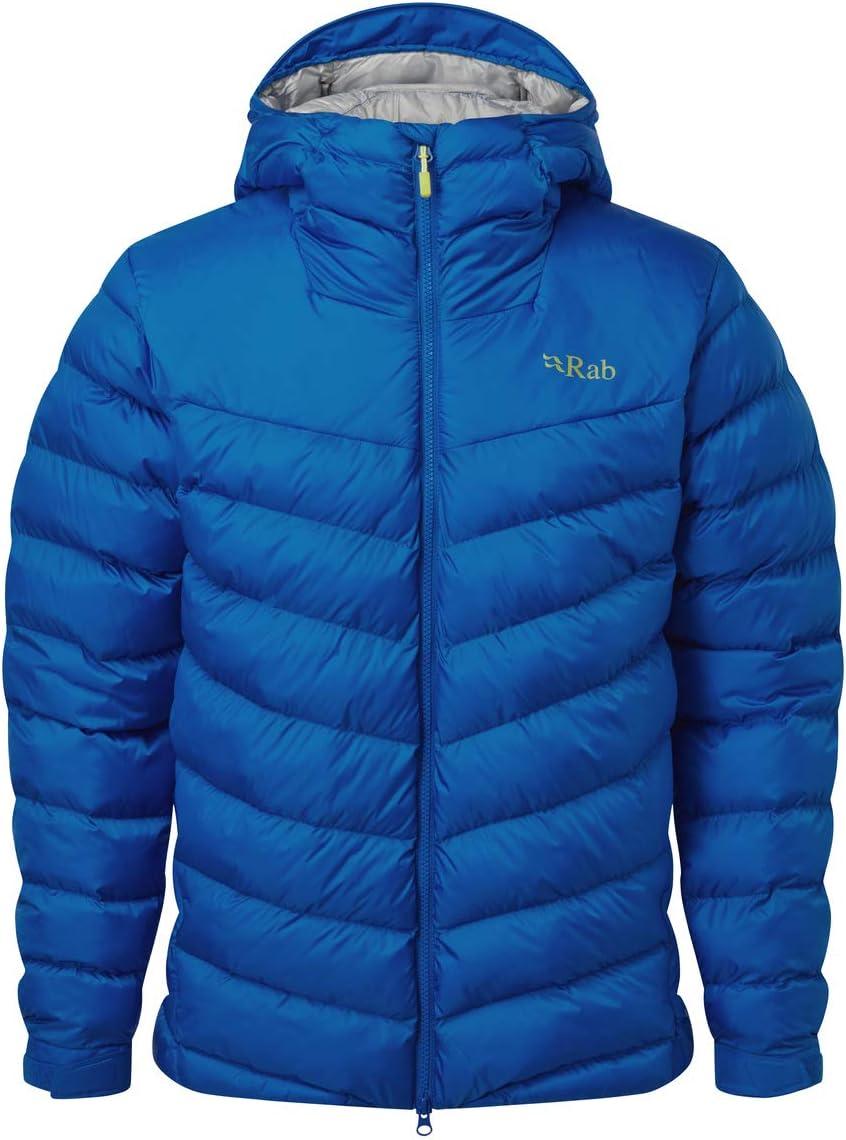 Polar Blue Rab Mens Nebula Pro Jacket Polar Blue Medium