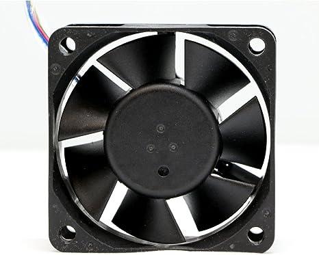Protechnic Ventilador, 12 V, 60 x 60 x 25 mm, 3600 RPM mgt6012mb ...