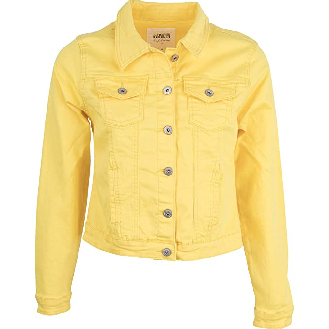 221b859da Hailys Women's Quilted Jacket Yellow Yellow - Yellow - XS: Amazon.co ...