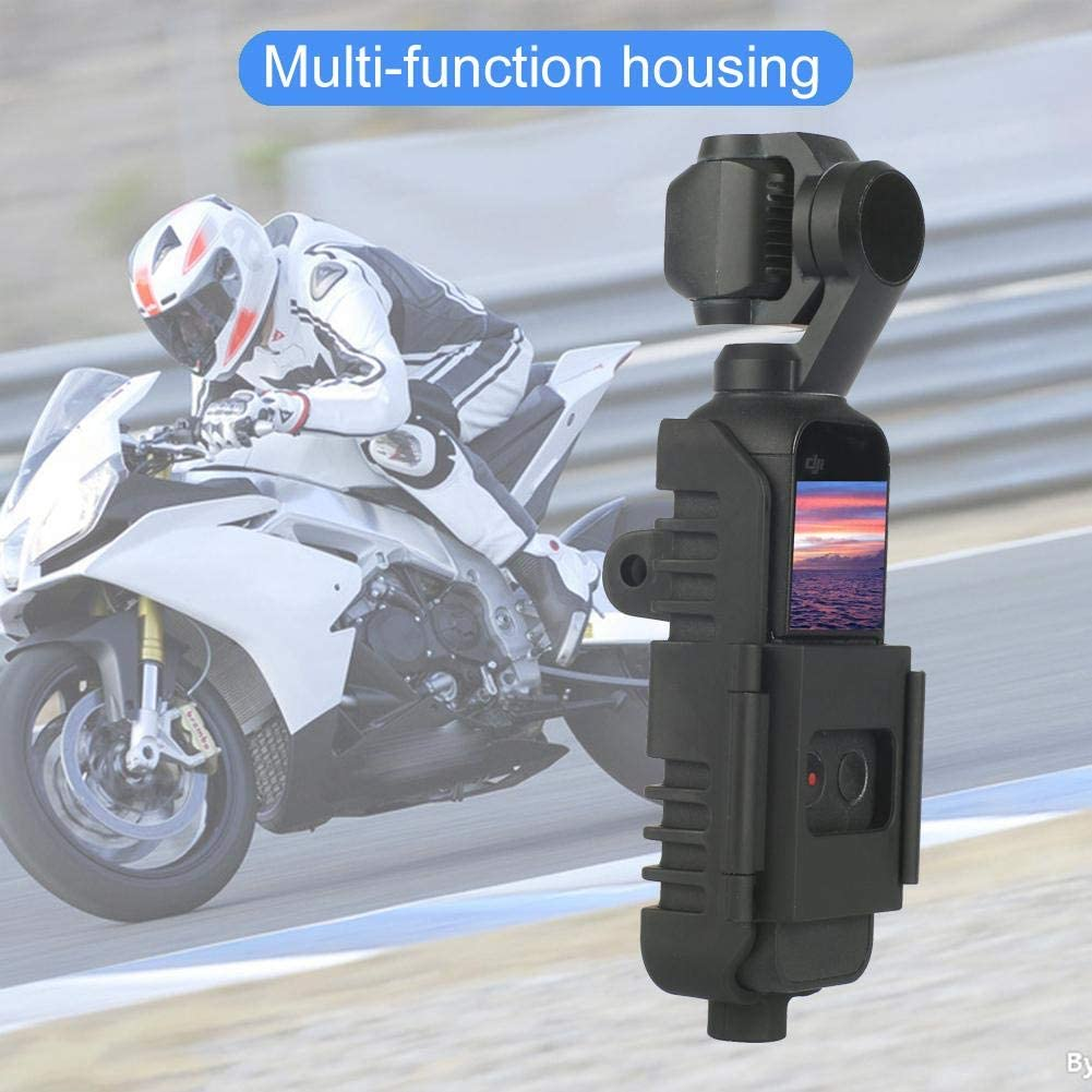 Ksruee Multi-Function Expansion Shell,Compatible with DJI OSMO Pocket PTZ,Camera Accessories