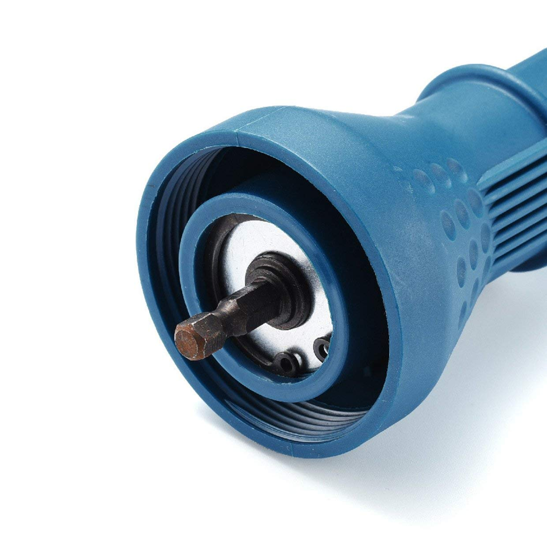 pistola Remachadora el/éctrica port/átil para tuercas ciegas MXECO azul remachadora adaptador para taladro atornillador a bater/ía inserci/ón para tuerca detector de taladro