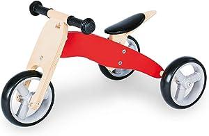 Pinolino Charlie Mini Tricycle Balance Bike, Brown