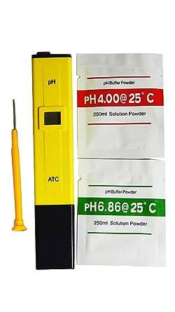 Generic TDL37108 Tiny Deal Ph-009 I Mini Pen Type Ph Meter Multimeter Tester Hydro Hhe-104465 Lab pH Meters at amazon