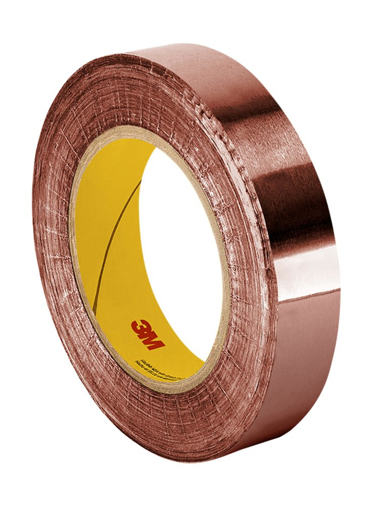 Cinta De Cobre 50mm X 33mt Adhesivo Conductor 3m