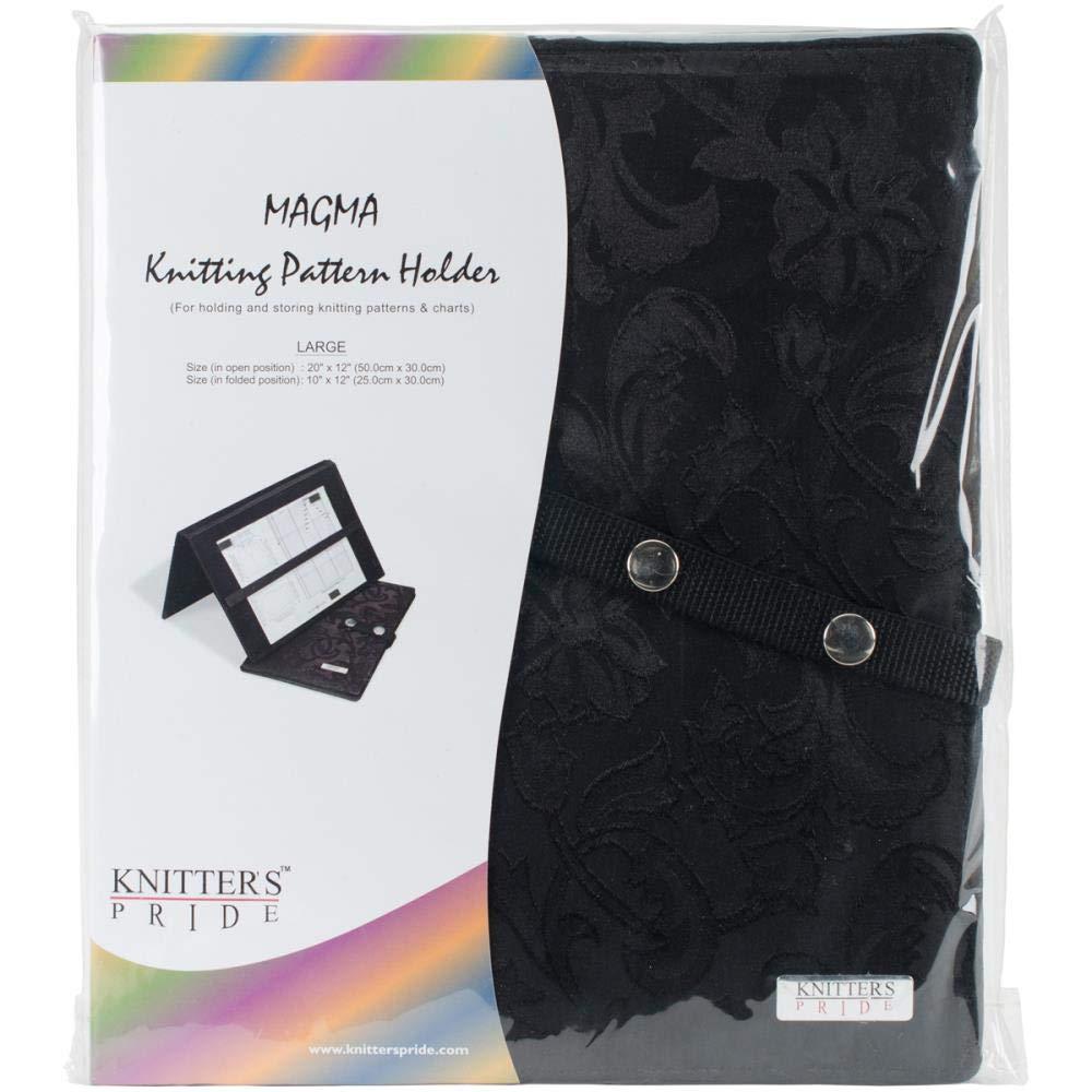 Knitter's Pride Magnetic Gift Set: 1 Large Pattern Holder, 1 Magnetic Necklace, and 1 Extra Magnet Set