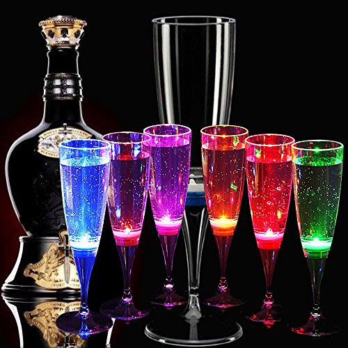 Top 10 Best LED Glow Cocktail Glasses Reviews 2019-2020 cover image