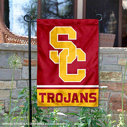 (College Flags and Banners Co. USC Trojans Garden Flag)