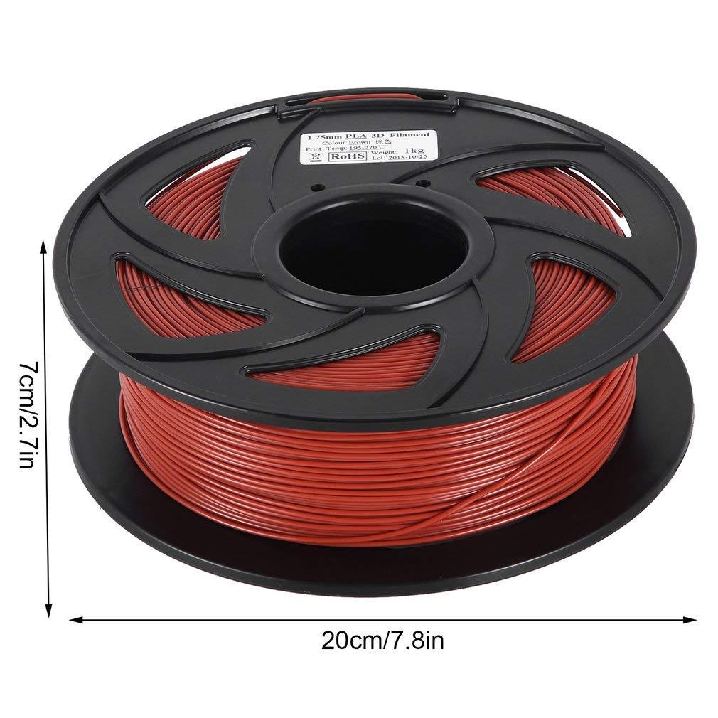 oiehazel PLA/ABS Filamento 1,75 mm 1 kg carrete para 3d impresora ...