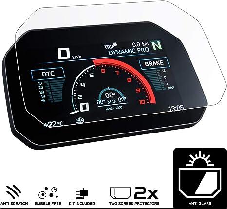 Speedo Angels Displayschutzfolie Tachoschutzfolie Für S1000xr 2020 2 X Anti Glare Auto