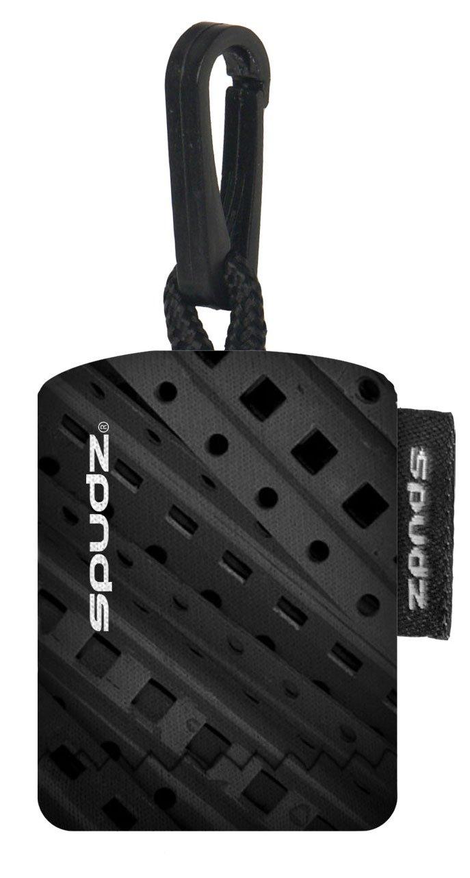 Spudz SPFD01-G19 6x6 Micro Fibre Lens Cloth In Pouch 8mm Film On Black