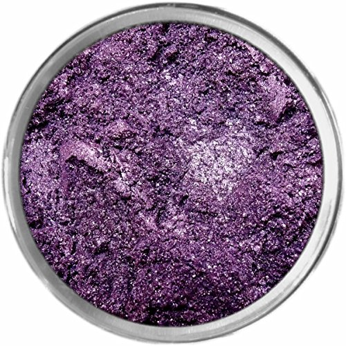 Purple Rain Loose Powder Mineral Shimmer Multi Use Eyes Face Color Makeup Bare Earth Pigment Minerals Make Up Cosmetics By MAD Minerals Cruelty Free - 10 Gram Sized Sifter Jar