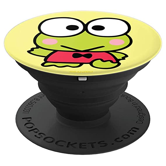 Keroppi Classic PopSockets Stand for Smartphones and Tablets - PopSockets  Grip and Stand for Phones and Tablets