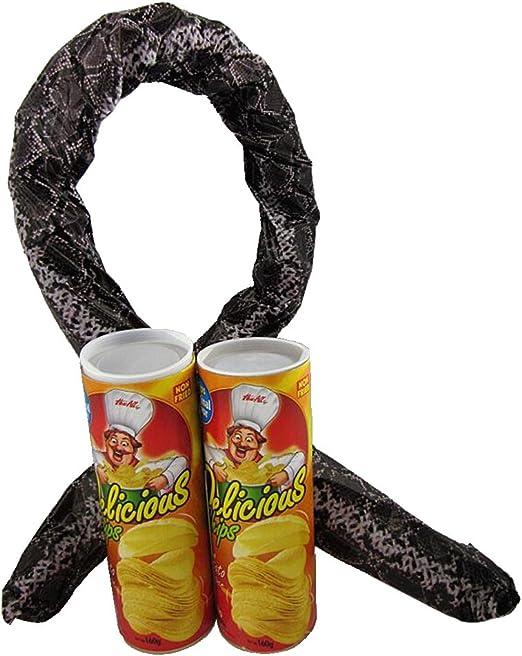 Springteufel Chips-Dose Kartoffel Chip  Schlange in  Partygag Hochzeit Scherz DE