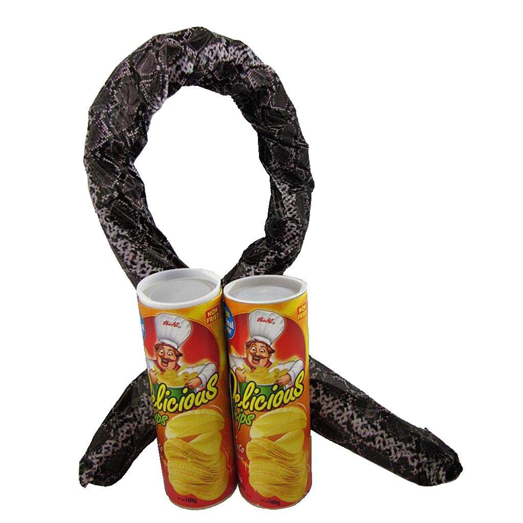 Sharplace 2pcs Überraschungs-Chips Dose mit Springschlange / Scherzartikel Chips Dose / Schlange in der Dose Geschenk
