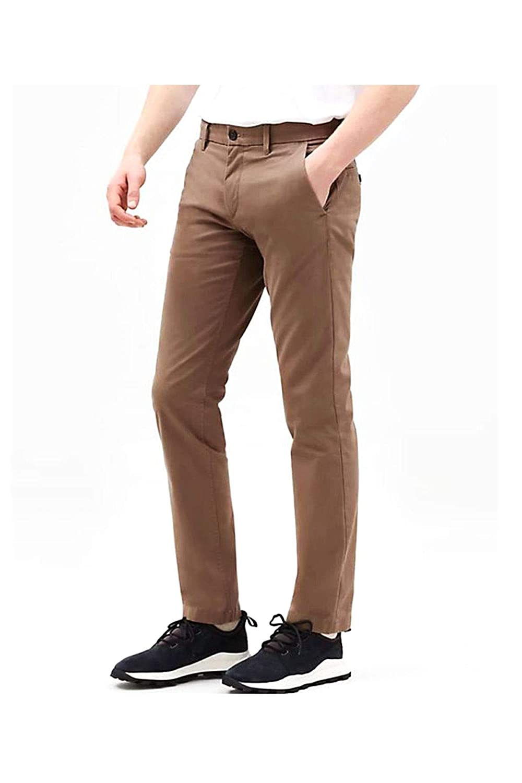 Timberland STR Twill SF Chino Pantalones para Hombre Marron