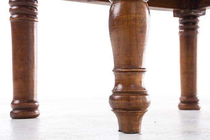 Pratico aiutante per casa scaletta con 2 gradini Colori a Scelta Rustico CLP Sgabello in Legno di Mogano Sorin