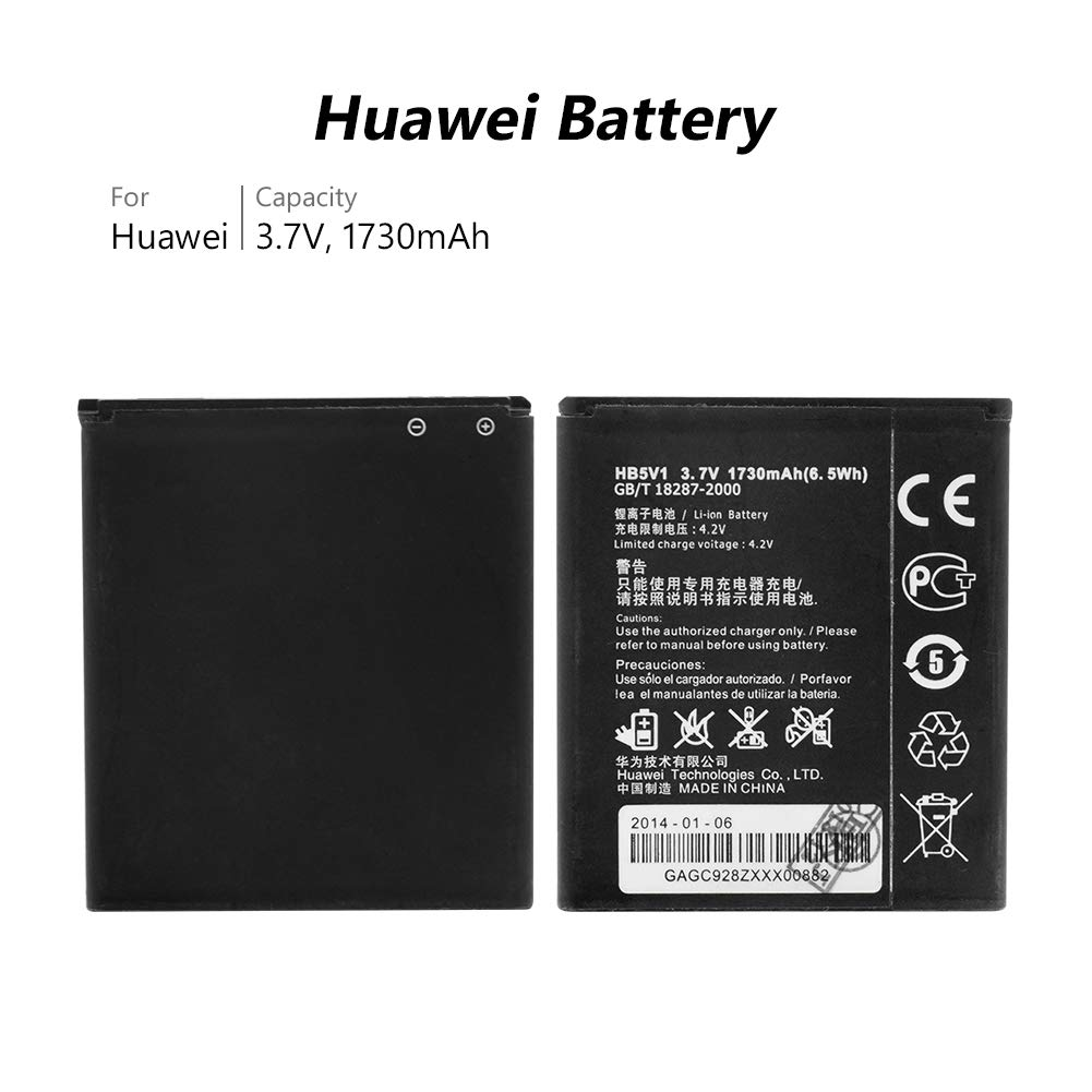 Amazon.com: HB5V1 Battery for Huawei Ascend Y300 Y336 Y500 ...