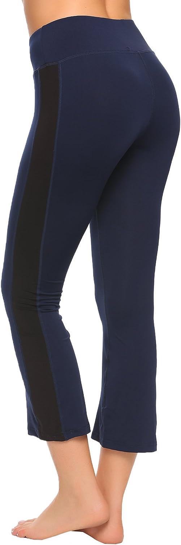 Ekouaer Womens Jogger Sweat Pant Active Yoga Workout Drawstring Leggings with Pocket