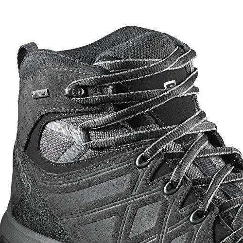 Salomon Men's Evasion 2 Mid LTR GTX Hiking and Multifunction Shoe Grey (Magnet/Phantom/Quiet Shade) RZqhI
