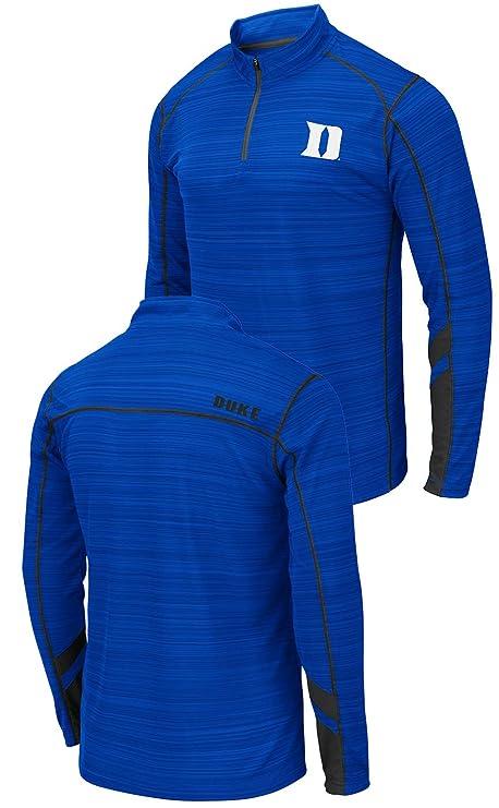 085f23f87c7 Amazon.com   NCAA Men s SUVA 1 4 Zip Pullover Polyester Shirt ...