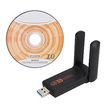 Tarjeta de Red inalámbrica, 1900Mbps 2.4G 5.8G Adaptador WiFi de ...