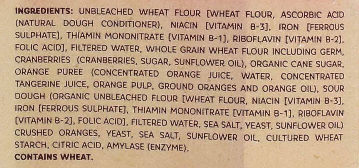 OZERY BAKERY Morning Round Pita Bread, Cranberry Orange, 12.7 Ounce (Pack of 6) by Ozery Bakery Inc. (Image #4)