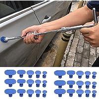 newhashiqi - Accesorios de extracción de abolladuras de coche, con adhesivo, ventosa de metal, herramientas de…