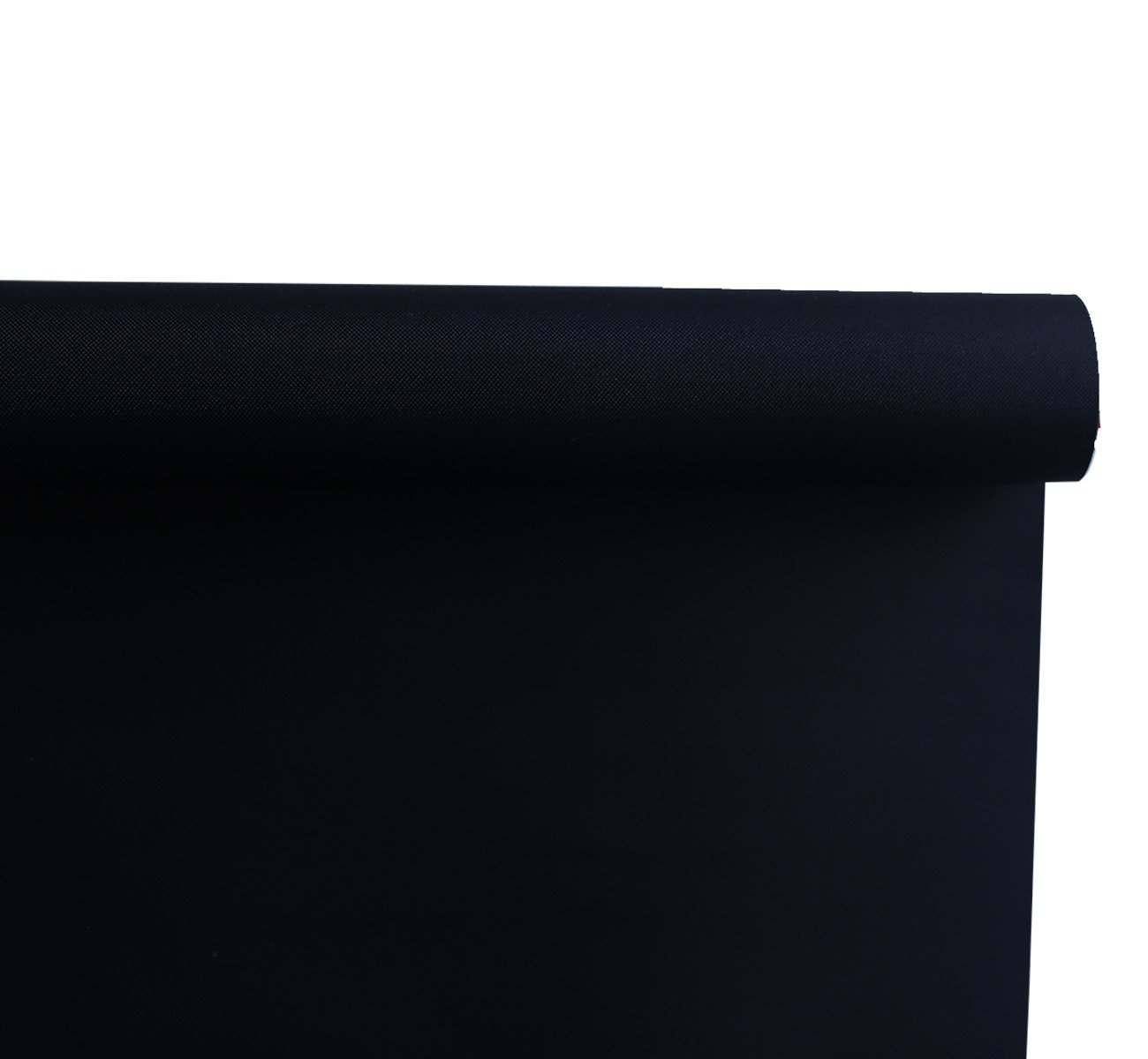 Beryhome Cristal Blackout Room Darkening Roller Shades/Blinds With Chain Cord. 20 Beautiful Colors Available. (W25''xH68'', Black) by Beryhome (Image #3)