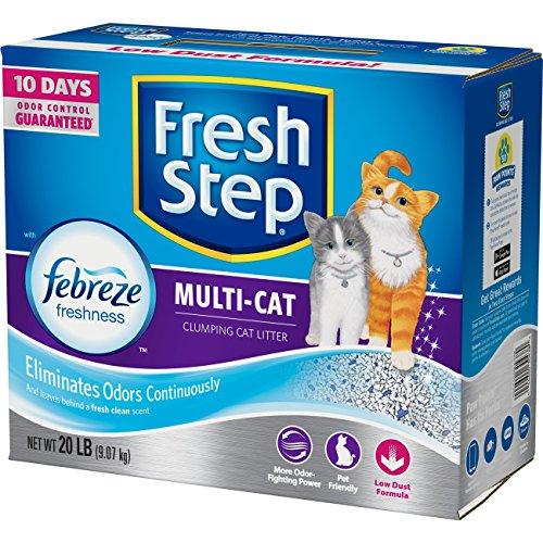 Fresh Step Ultracare Febreze Freshness Clumping Cat